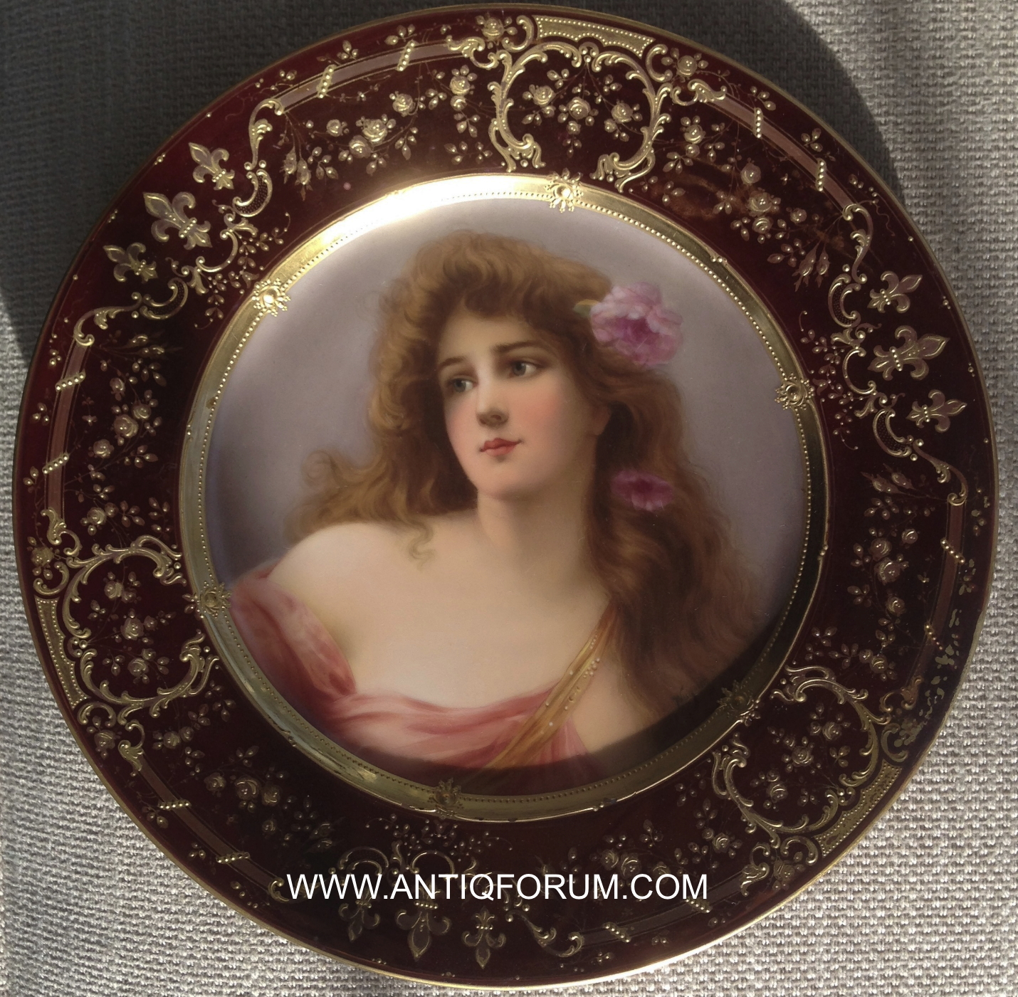 sc 1 st  AntiqForum & Royal Vienna Portrait Plates by Wagner - FREE Online Appraisal