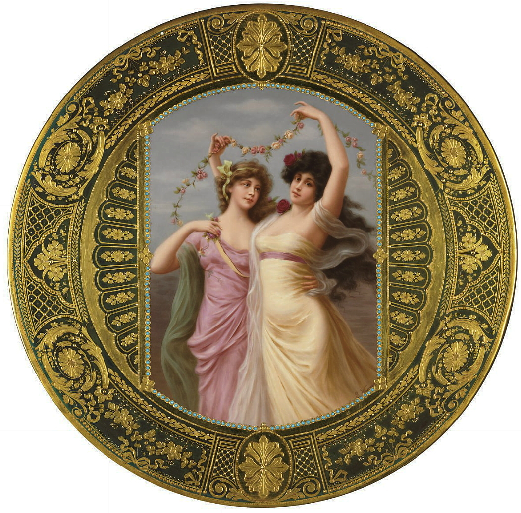 Antique Royal Vienna porcelain plates hand painted with portraits after Angelo Asti Find out your plateu0027s current market value within 24 hours! Sell it!  sc 1 st  AntiqForum & Royal Vienna Portrait Plates by Wagner - FREE Online Appraisal