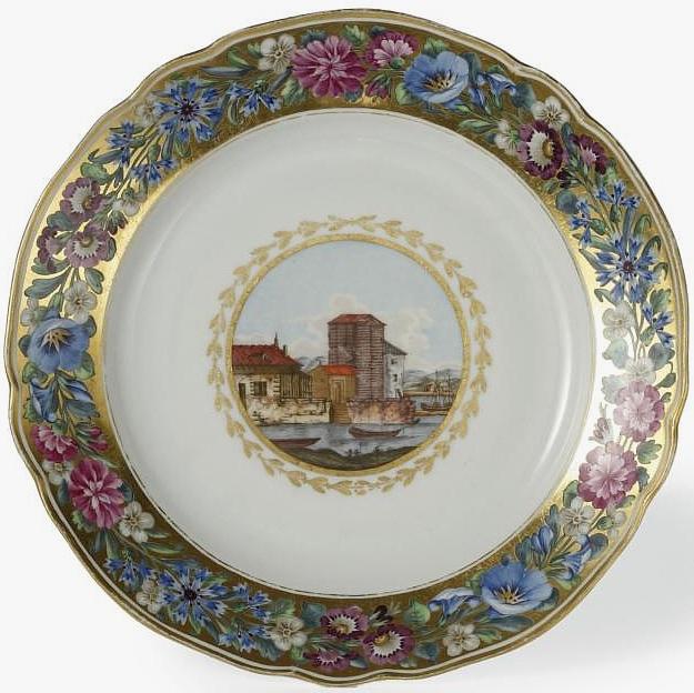 & AntiqForum - Russian Imperial Porcelain plates - Online Appraisal