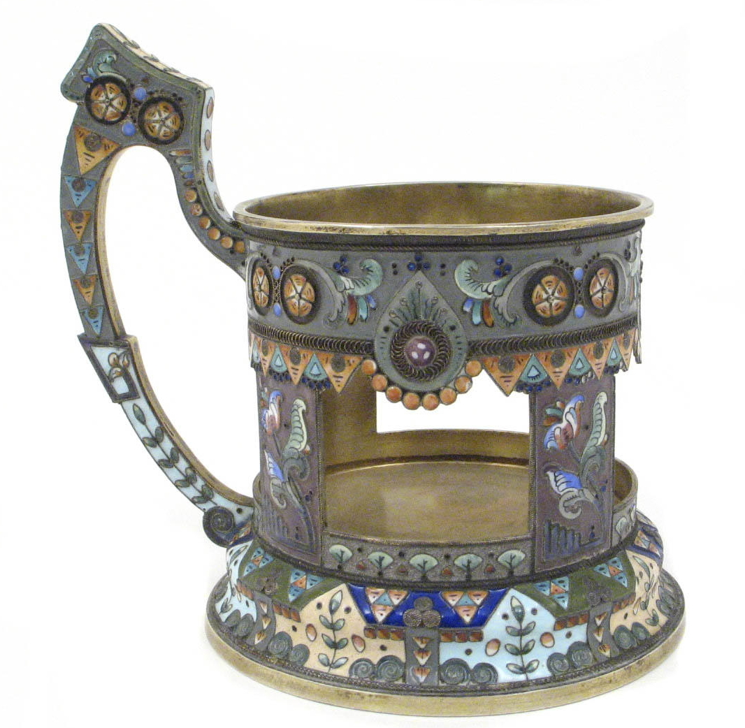We provide FREE online appraisals on antique Russian silver enamels  To  find out how much your kovsh is currently worth  please contact us. Russian Silver Cup Holders   Free Online Appraisal