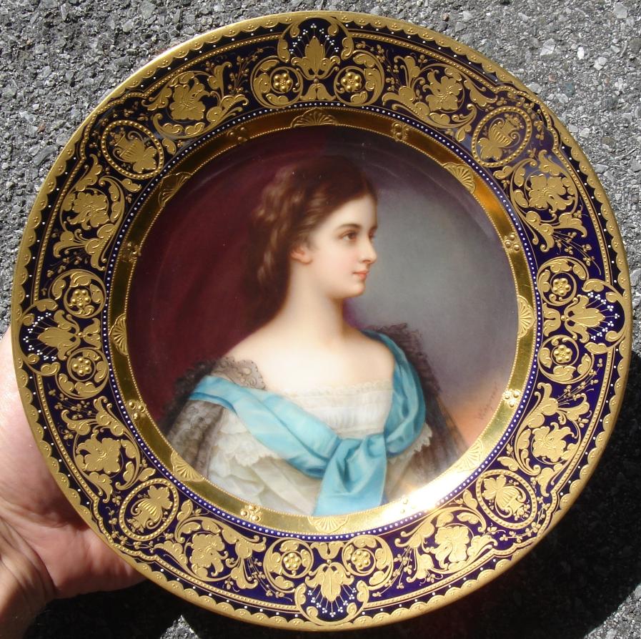 Kaiserin Elisabeth von Österreich  sc 1 st  AntiqForum & AntiqForum - Royal Vienna - Portrait Plates of Royalty